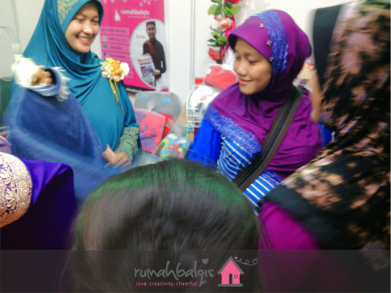 RumahBalqis di Tangerang expo 2015_4